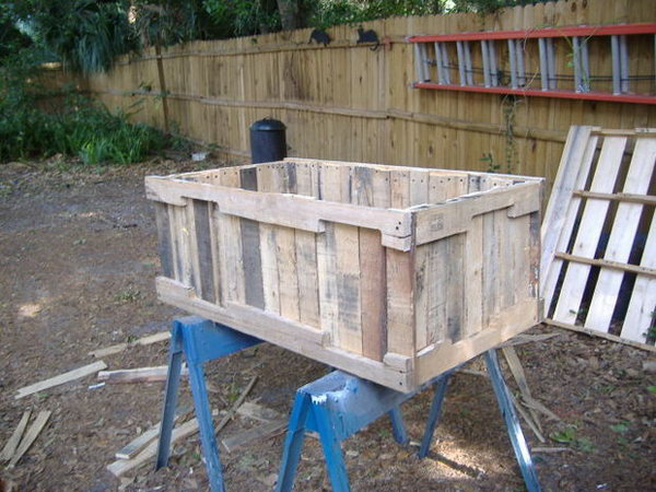 9 Planter From Pallets Without Having To Pull Out Each Nail