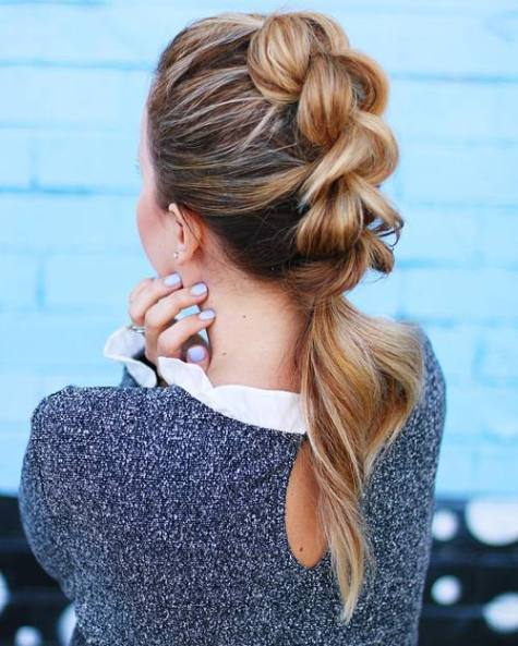 9 Quick And Easy Hairstyle For Busy Women