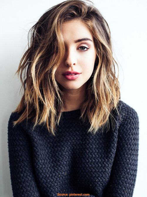 9 Stunning Shoulder Length Hairstyles and Haircuts