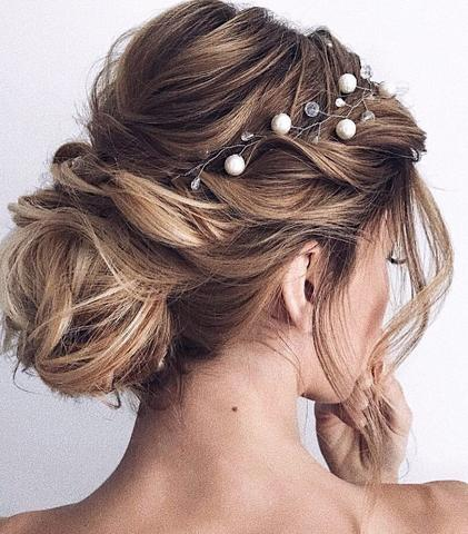 HALF UP HALF DOWN WEDDING HAIRSTYLES IDEAS 1