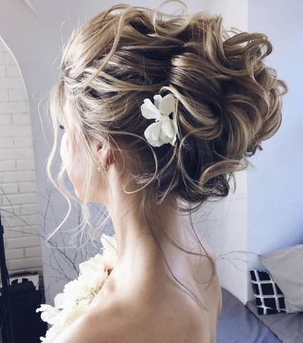 HALF UP HALF DOWN WEDDING HAIRSTYLES IDEAS 2