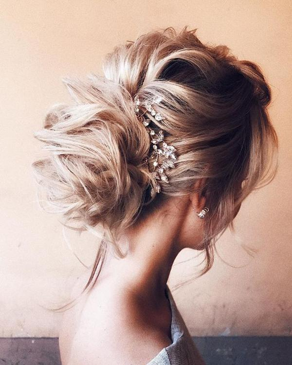 HALF UP HALF DOWN WEDDING HAIRSTYLES IDEAS 21