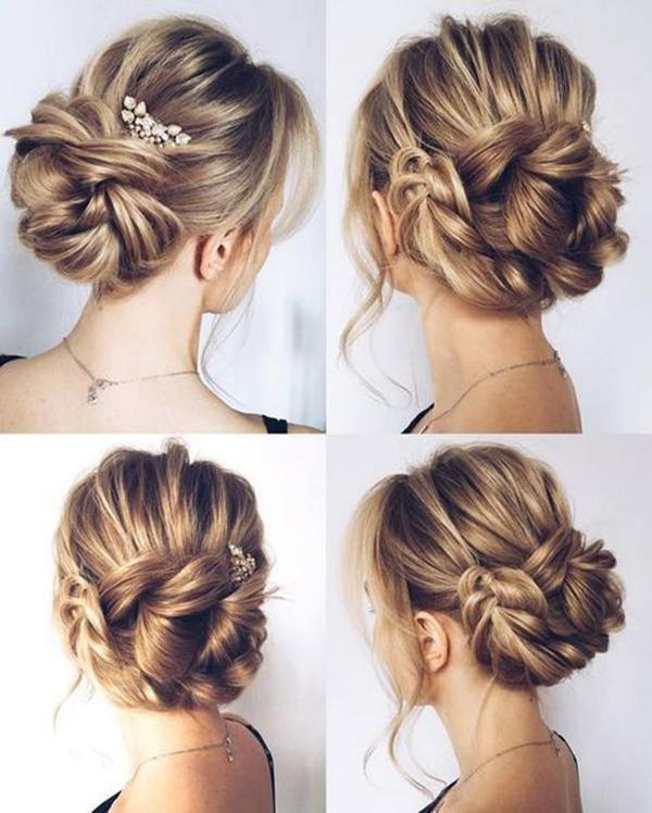 HALF UP HALF DOWN WEDDING HAIRSTYLES IDEAS 22