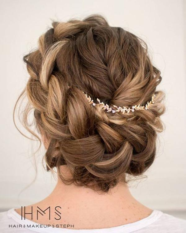 HALF UP HALF DOWN WEDDING HAIRSTYLES IDEAS 23