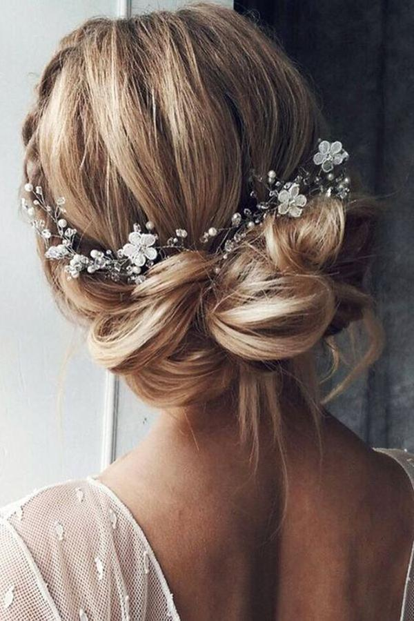 HALF UP HALF DOWN WEDDING HAIRSTYLES IDEAS 27