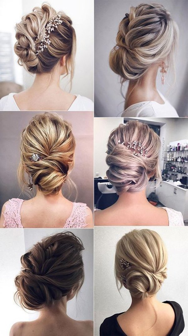 HALF UP HALF DOWN WEDDING HAIRSTYLES IDEAS 28