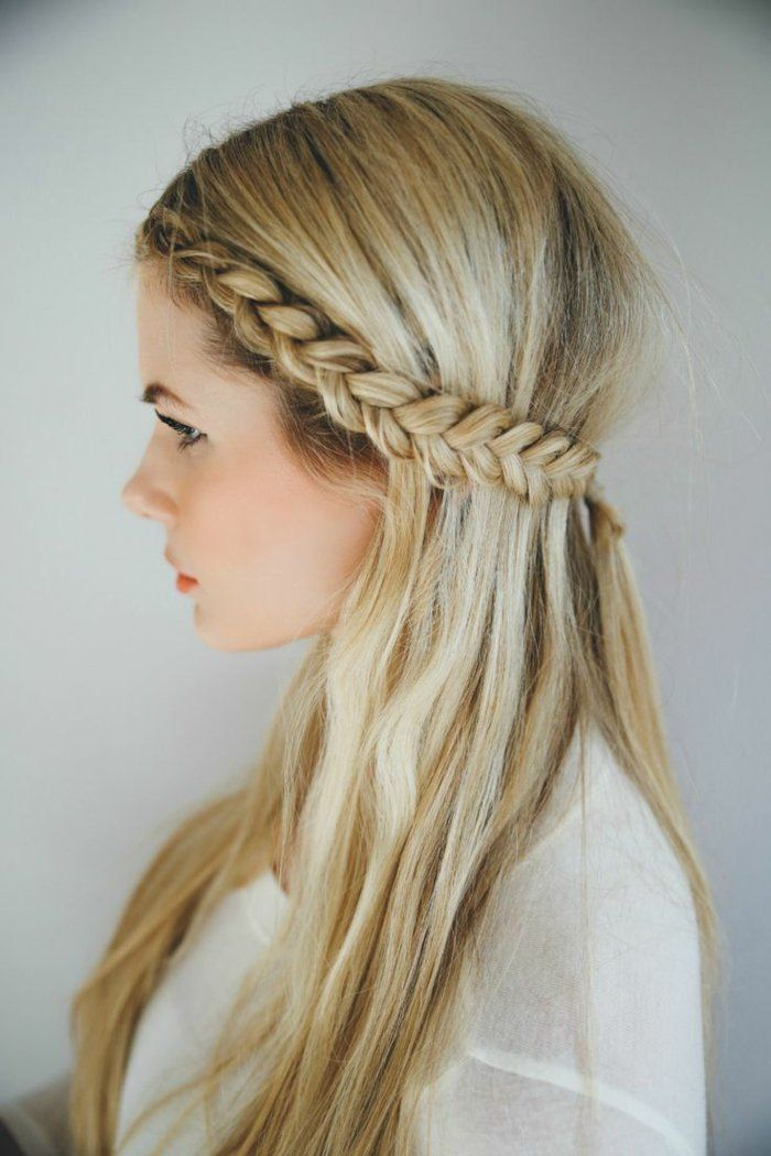 HALF UP HALF DOWN WEDDING HAIRSTYLES IDEAS 35