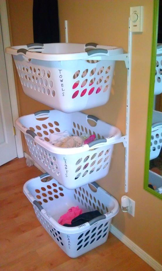 1 Laundry Basket Shelf
