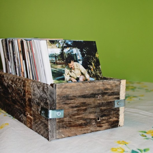 1 Rustic Pallet Wood Box