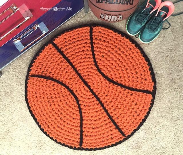 10 Basketball Rug