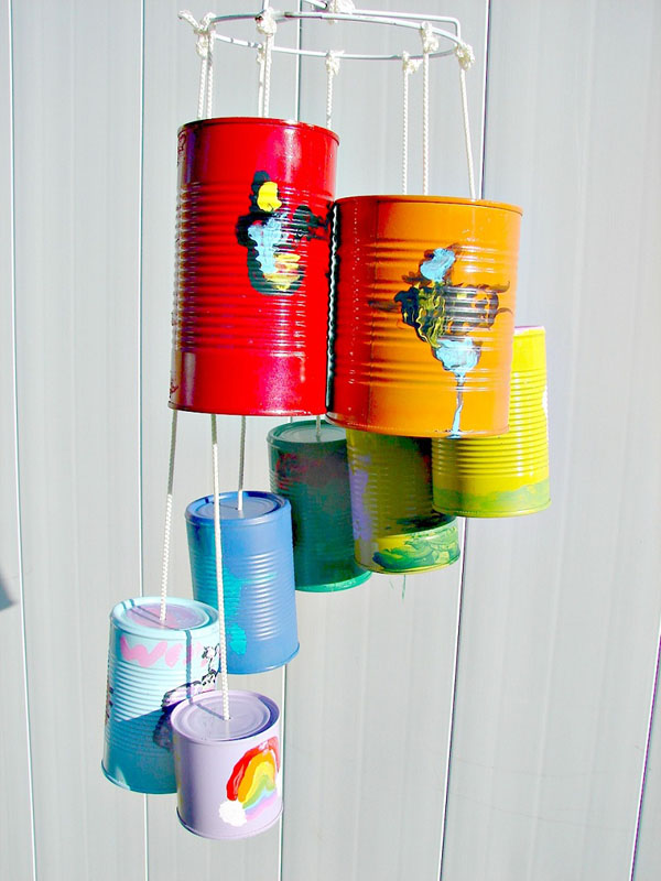 10 Tin Can Wind Chime