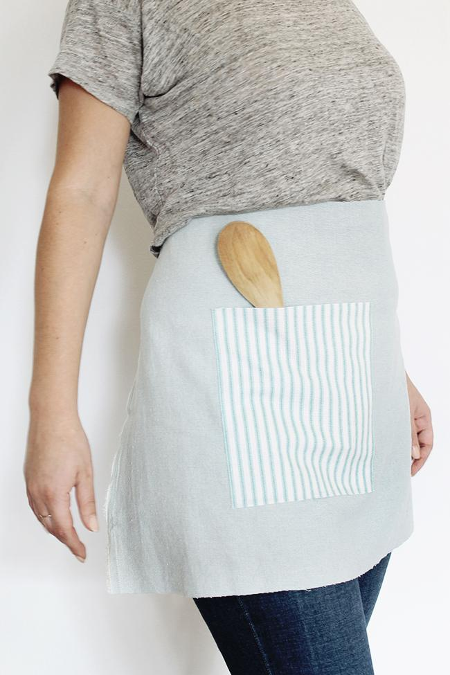 11 DIY No-Sew Waist Apron