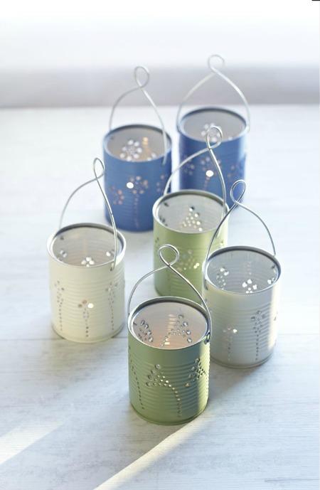 11 Tin Can Lanterns