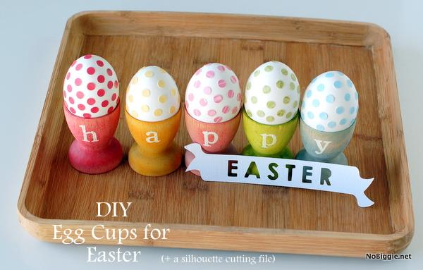 13 DIY Stained Egg Cups