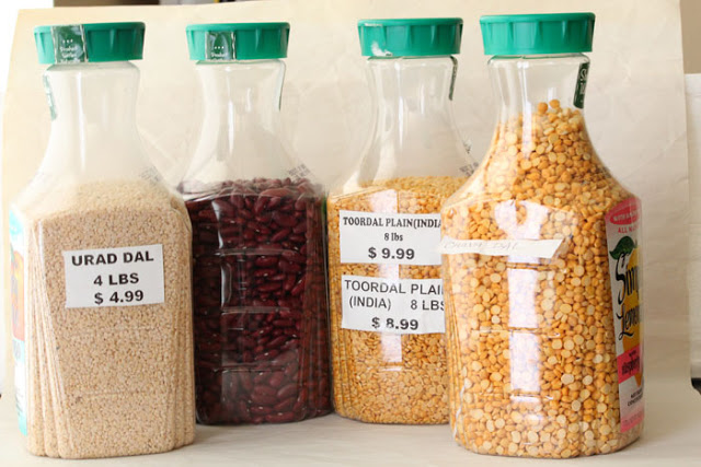 13 Recycle plastic bottles for dry food storage