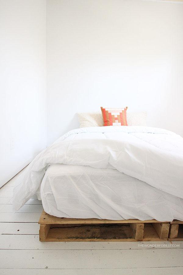 13 Wood Pallet Bed Frame