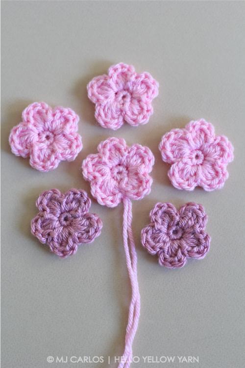 16 5-Petal Flowers