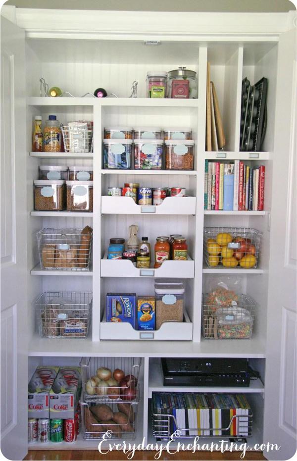 17 Pantry Reveal and Organizing Tips at Nina Hendrick
