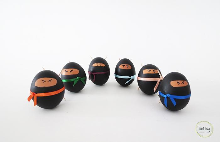 18 Easter Ninja Eggs