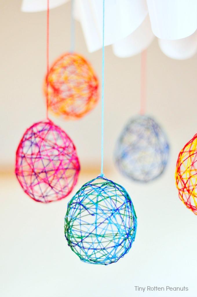 19 String Easter Eggs