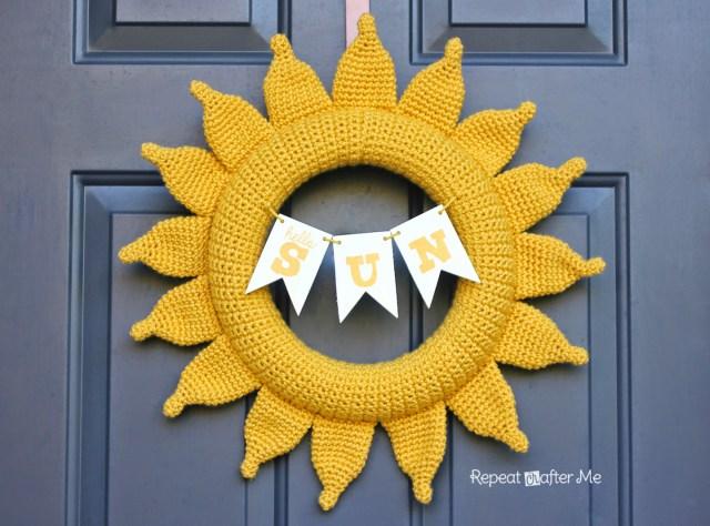 2 Summer Sun Wreath