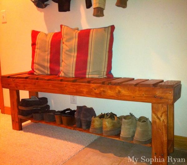 20 Shoe Storage Bench