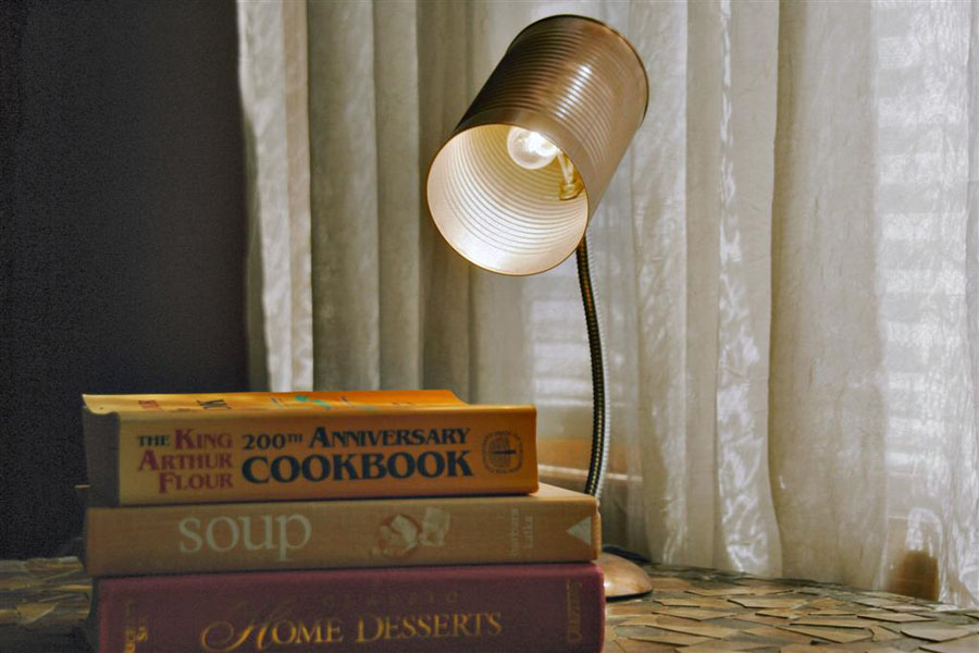 20 Tin Can Desk Lamp