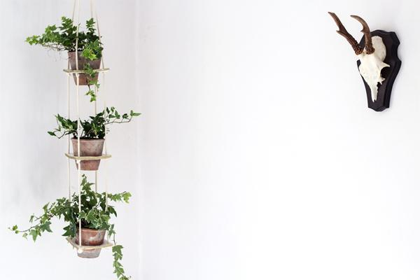 21 3 Tiered Clay Hanging Planter
