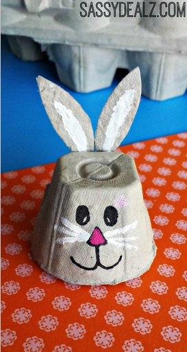 22 Egg Carton Bunny