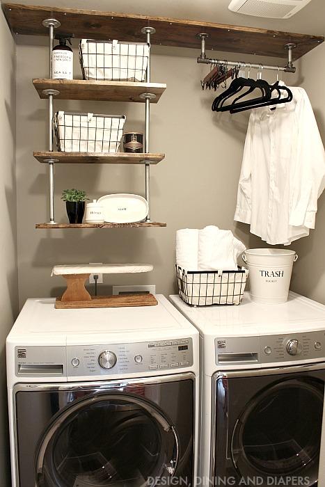 22 Laundry Room Shelving