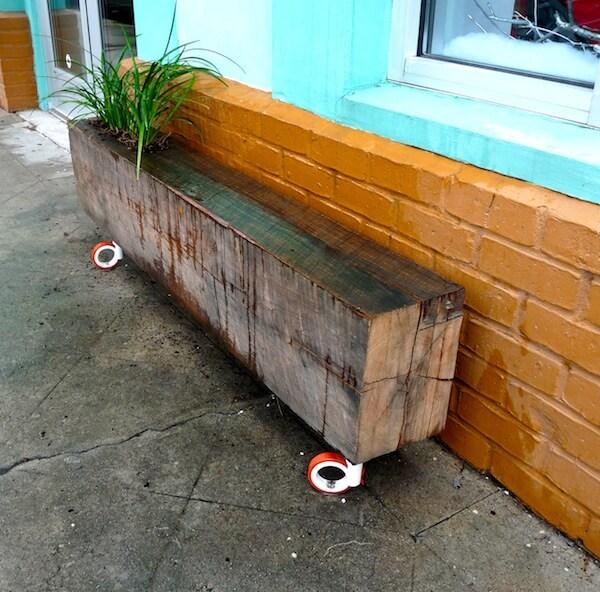 23 Planter Bench