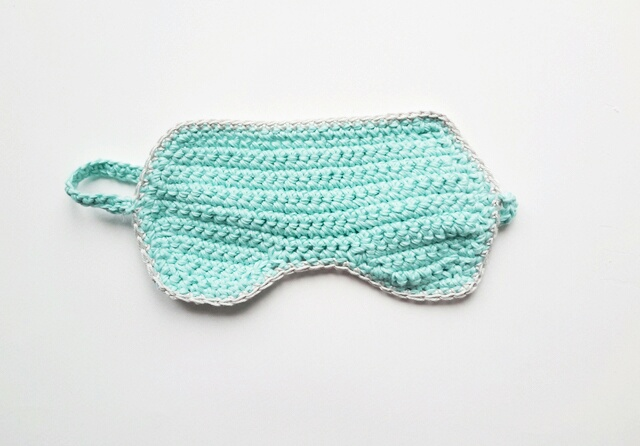 25 Crochet Sleeping Mask