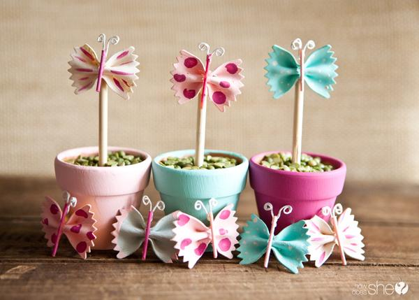 25 Spring Butterfly Pasta Decor