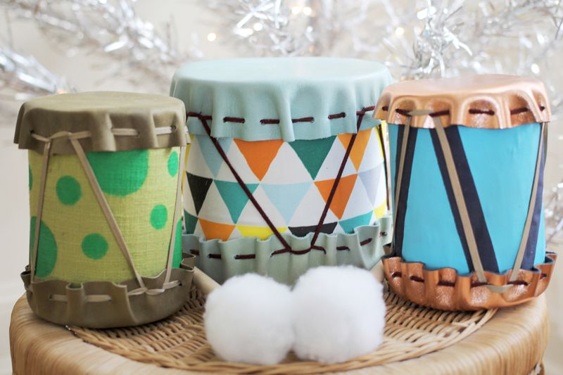 25 Tin Can Drums