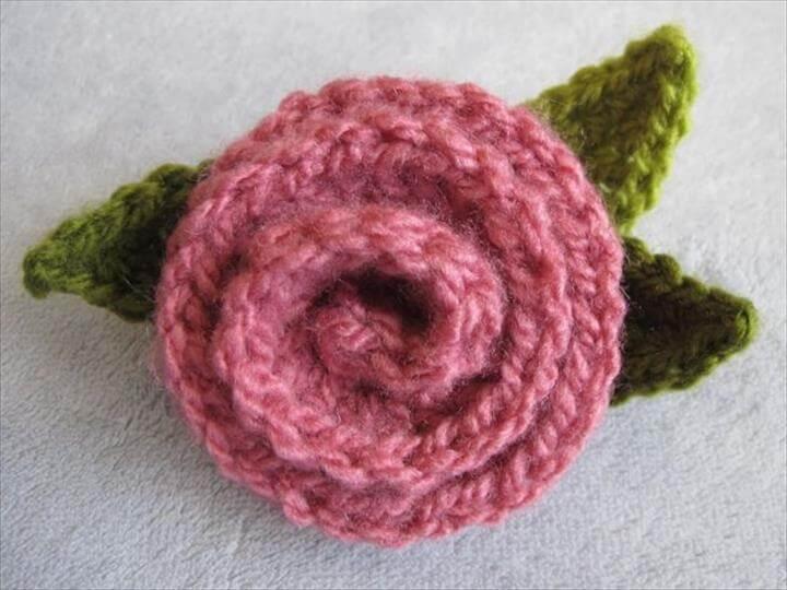 26 Crochet Deco Rose Pattern
