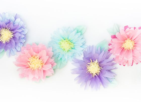 26 DIY Tissue Flowers