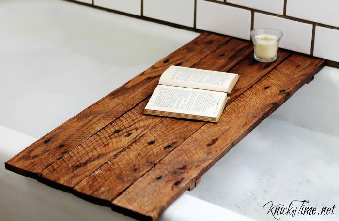 27 Bathtub Tray