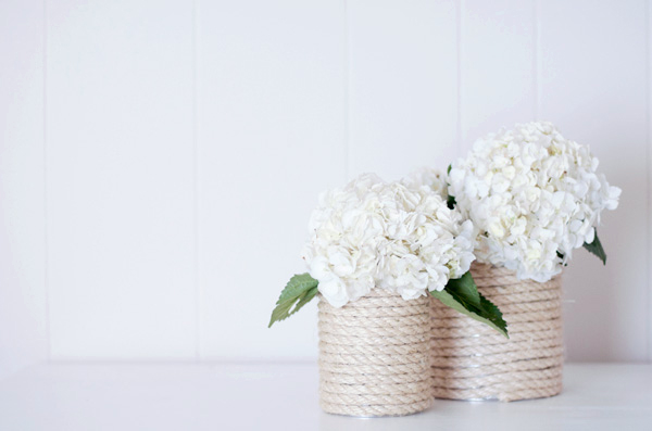 28 Nautical Rope Vase