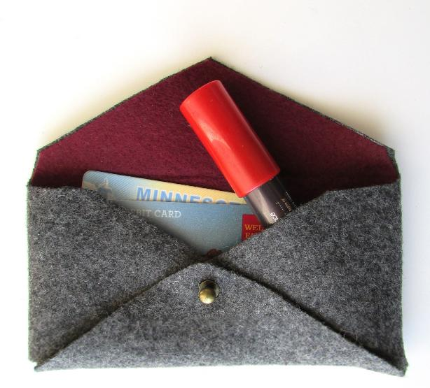 28 The Mini Felted Clutch