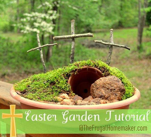 29 Easter Garden Tutorial