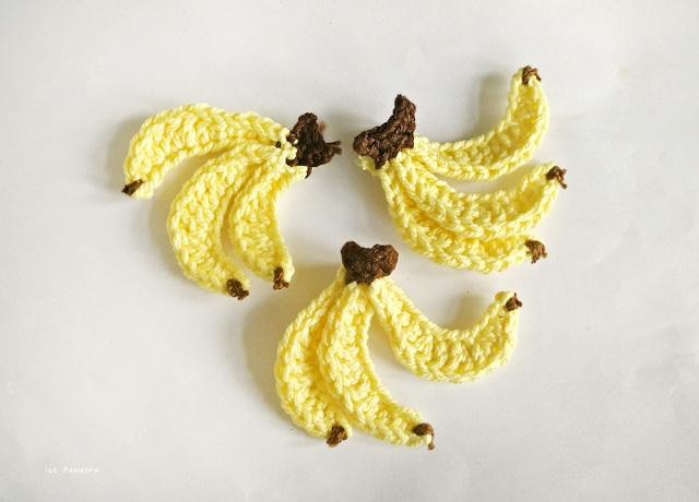 30 Crochet Bananas