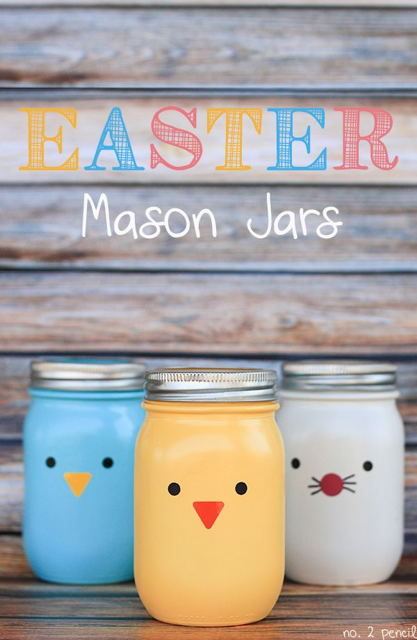 30 Easter Mason Jars