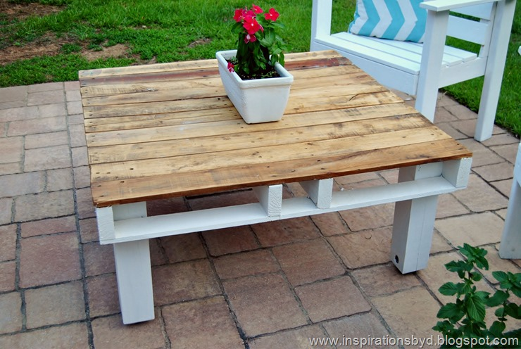 30 Outdoor Pallet Table