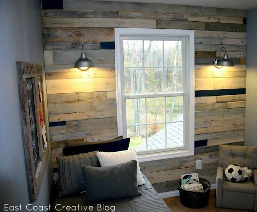 30 Pallet Wall