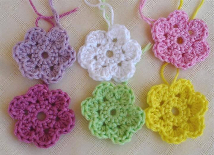 32 Crochet Flower Patterns For Beginners