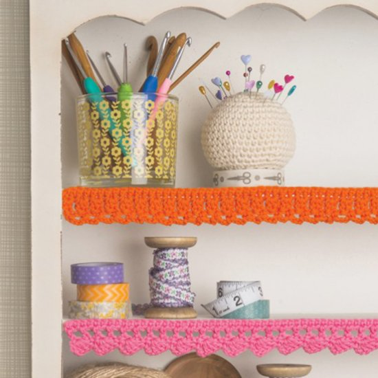 32 Crochet Shelf Edging