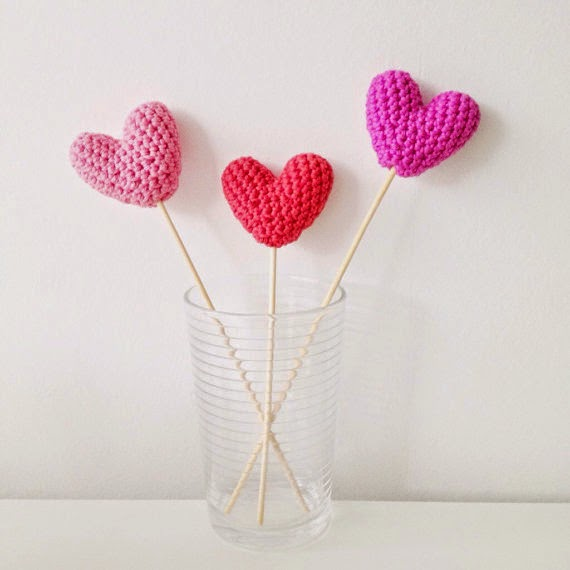 33 Stuffed Hearts