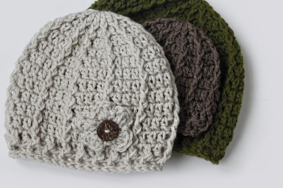 34 Crochet Swirl Hat