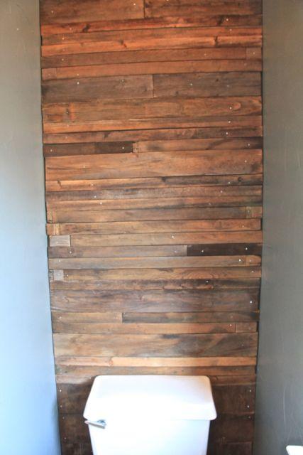 34 Reclaimed Wood Wall