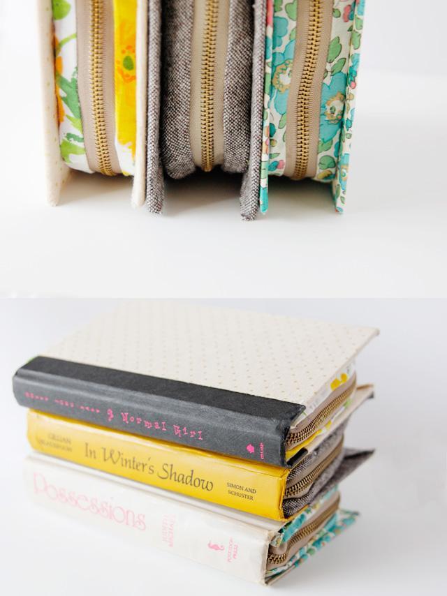 35 Zipper Book Clutch